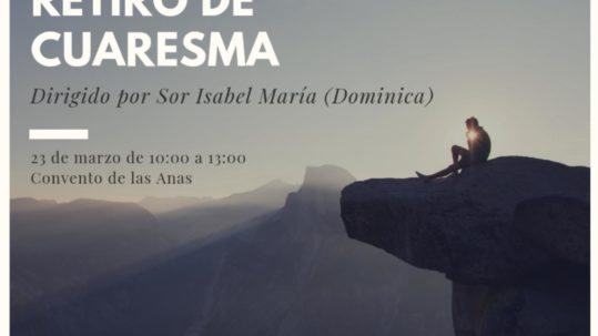 Retiro de Cuaresma, Pastoral Vocacional Murcia, Diócesis de Cartagena
