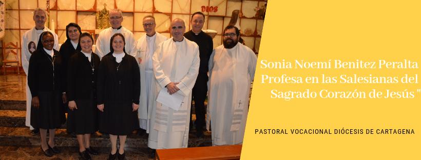 Salesaianas del Sagrado Corazón de Jesús, Pastoral Vocacional Murcia, Diócesis de Cartagena