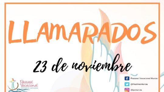 Cartel Llamarados 2019, Pastoral Vocacional Murcia, Diócesis de Cartagena, 2 jpg