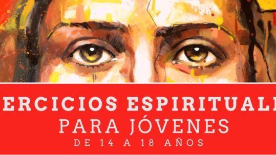 Cartel Ejercicios ACG, Pastoral vocacional Murcia, Diócesis de Cartagena